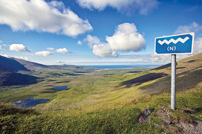Ireland's famous Wild Atlantic Way