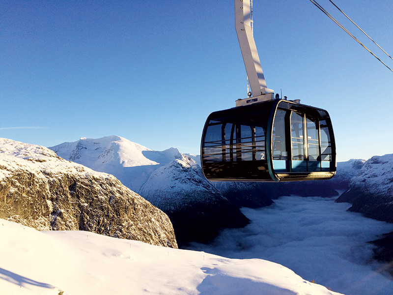 Loen Skylift will be ready to operate in May