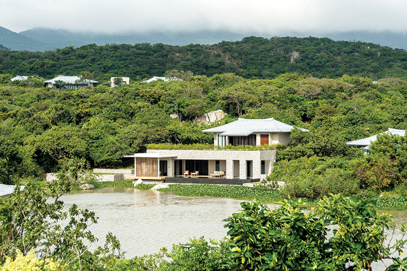 The newly launched Spa House at Amanoi in Vietnam