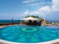 The hotel pool, Le Royal Lebanon