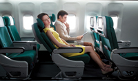 Premium comfort onbaord Cathay Pacific