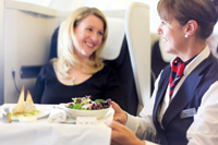 Experience authentic British fare onboard British Airways
