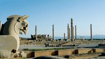 The ancient Persopolis in Iran