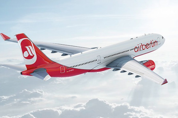 Airberlin files for administration