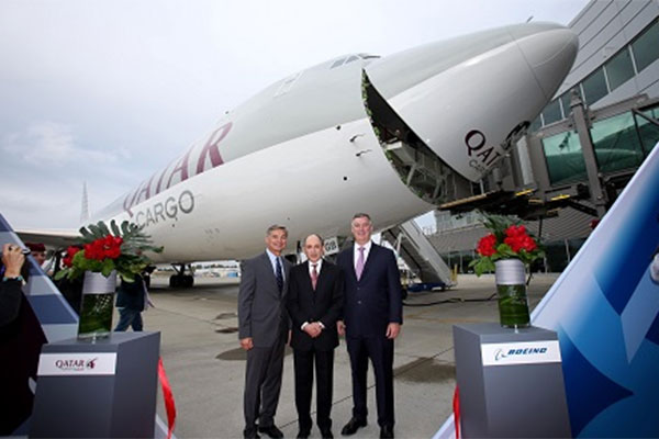 Qatar Airways receives 747-8 freighter