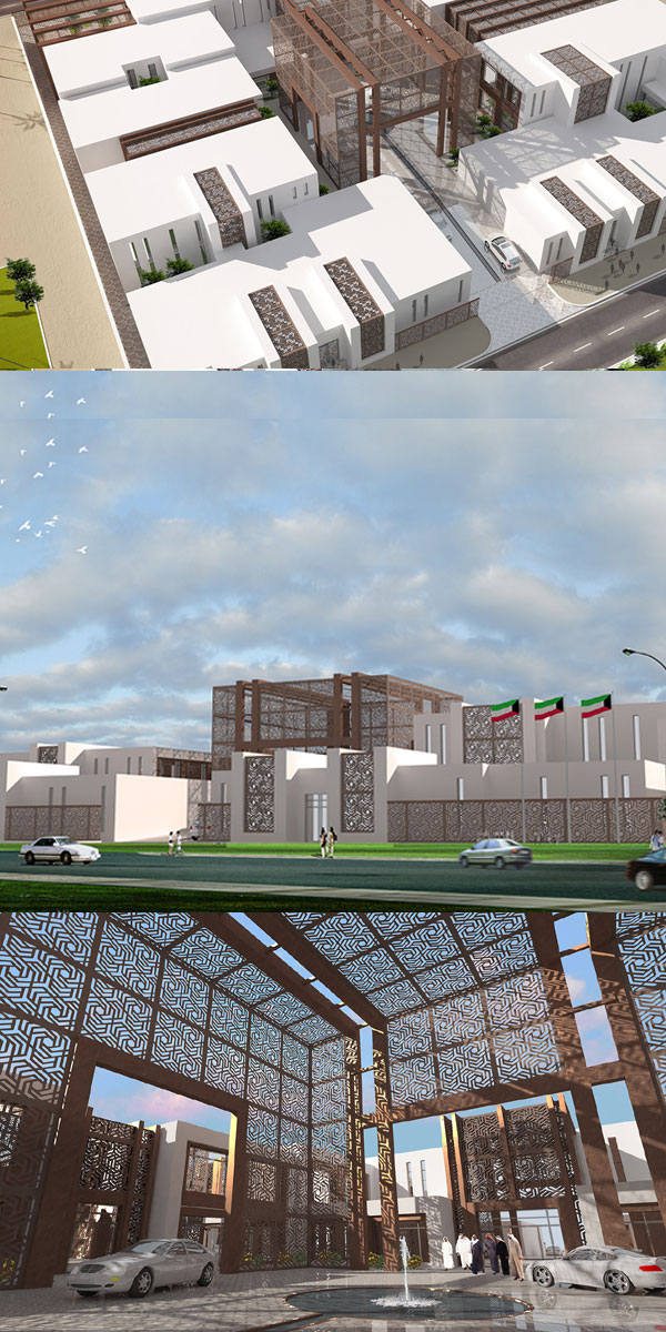 Makan Consulting unveils new Kuwait embassy design