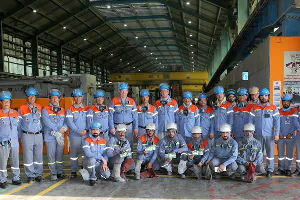 Alba Line 6 Smelter records 20m man-hours without LTI