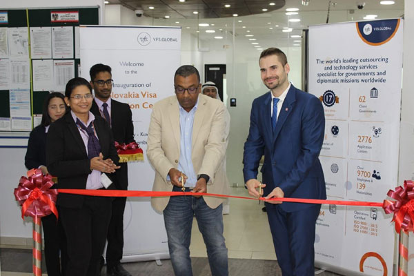 Travel Tourism Hospitality Vfs Global Opens First Slovakia Visa Application Centre In Kuwait